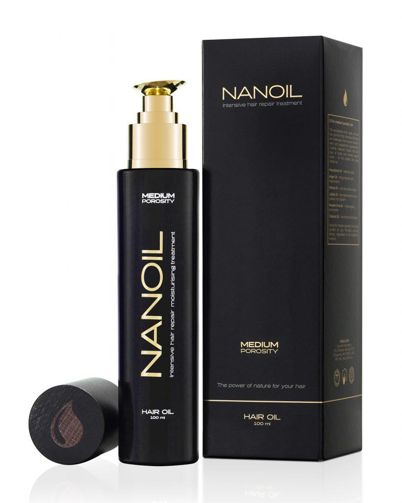 Cheveux sains grâce à Nanoil